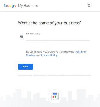 Google My Business (GMB) - What is the name of your business?